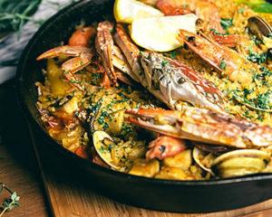 西班牙風味海鮮燉飯