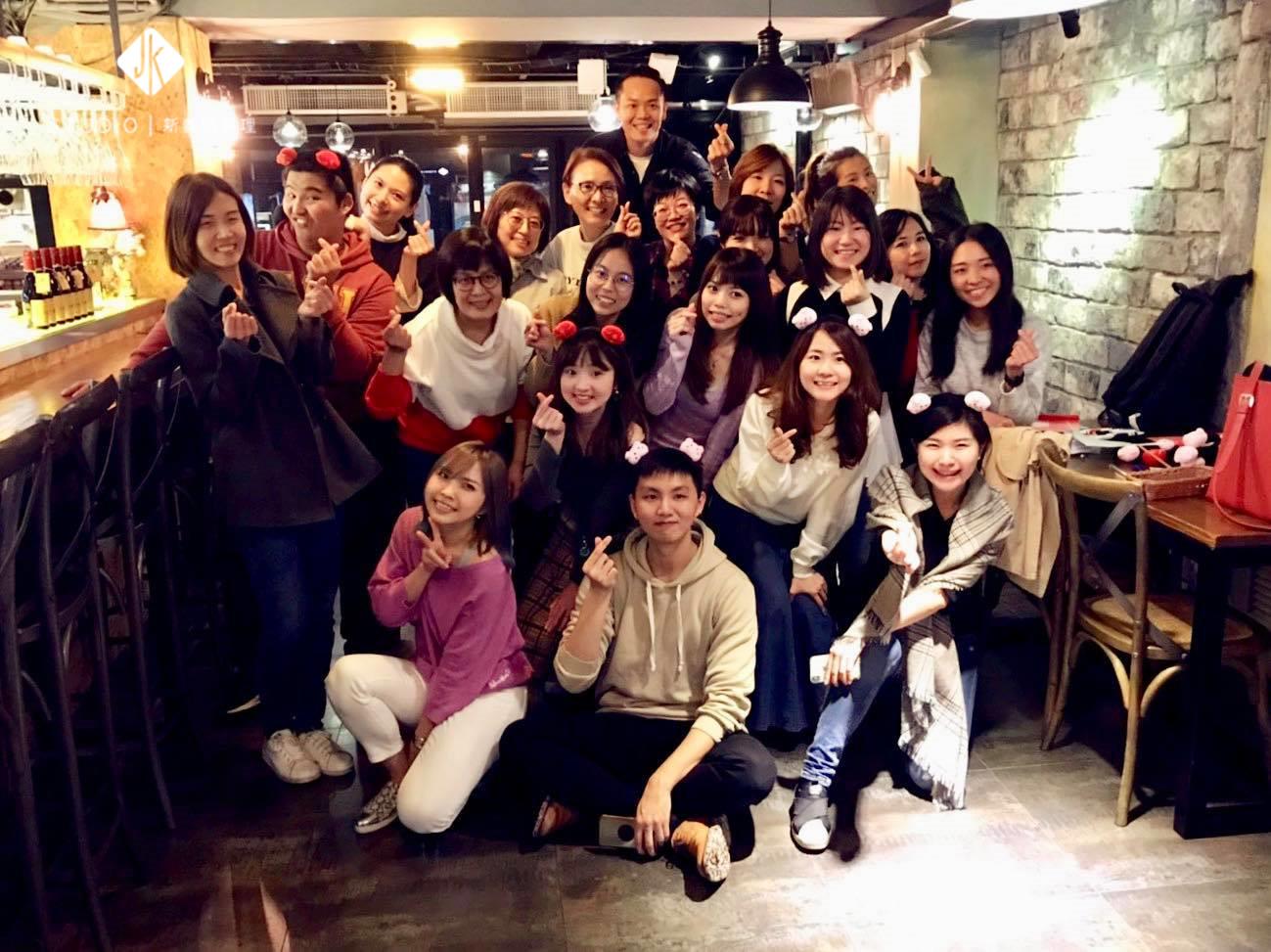 IBM部門春酒 x JK STUDIO新義法料理 (台北信義)