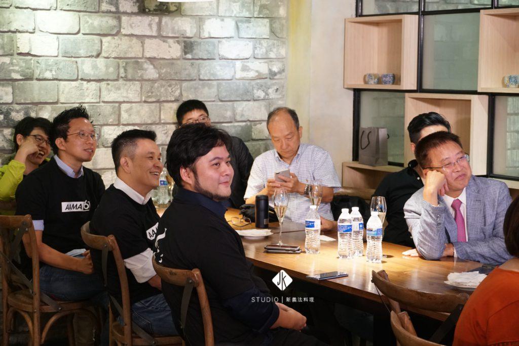 ﹝畢業典禮/謝師宴﹞AAMA台北搖籃計劃 x JK STUDIO新義法料理