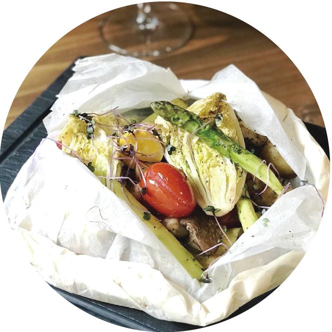 地中海紙包蔬菜