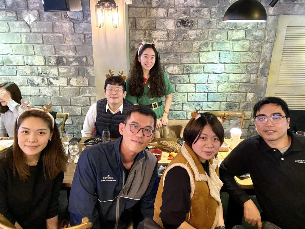 台灣悅廷和 x JK STUDIO新義法料理 / 聖誕聚餐包場